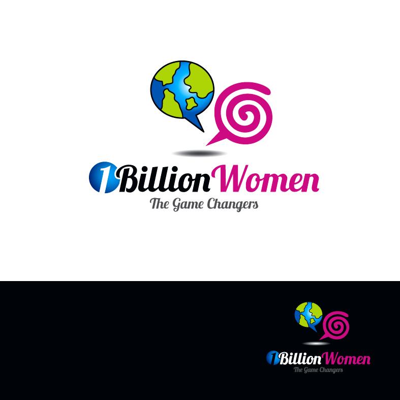 Logo Design by luna - Entry No. 21 in the Logo Design Contest Fun Logo Design for 1BillionWomen.