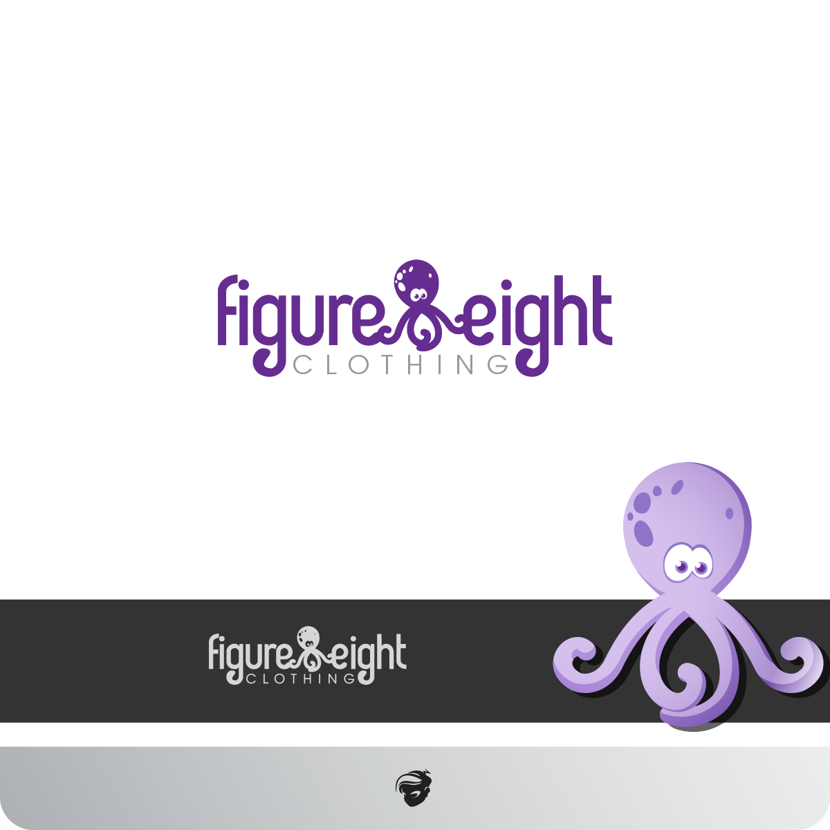 Logo Design by zesthar - Entry No. 24 in the Logo Design Contest Artistic Logo Design for Figure Eight Clothing.