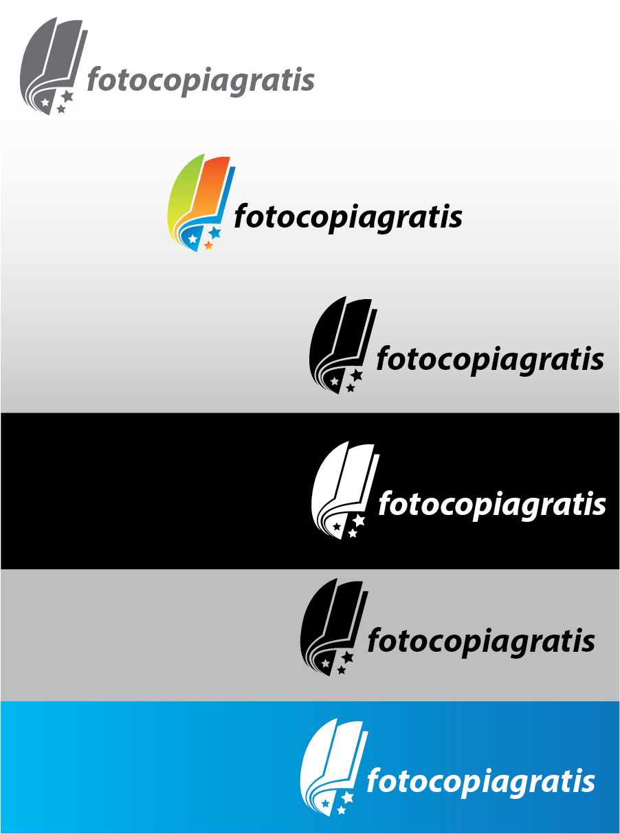Logo Design by Private User - Entry No. 201 in the Logo Design Contest Inspiring Logo Design for Fotocopiagratis.