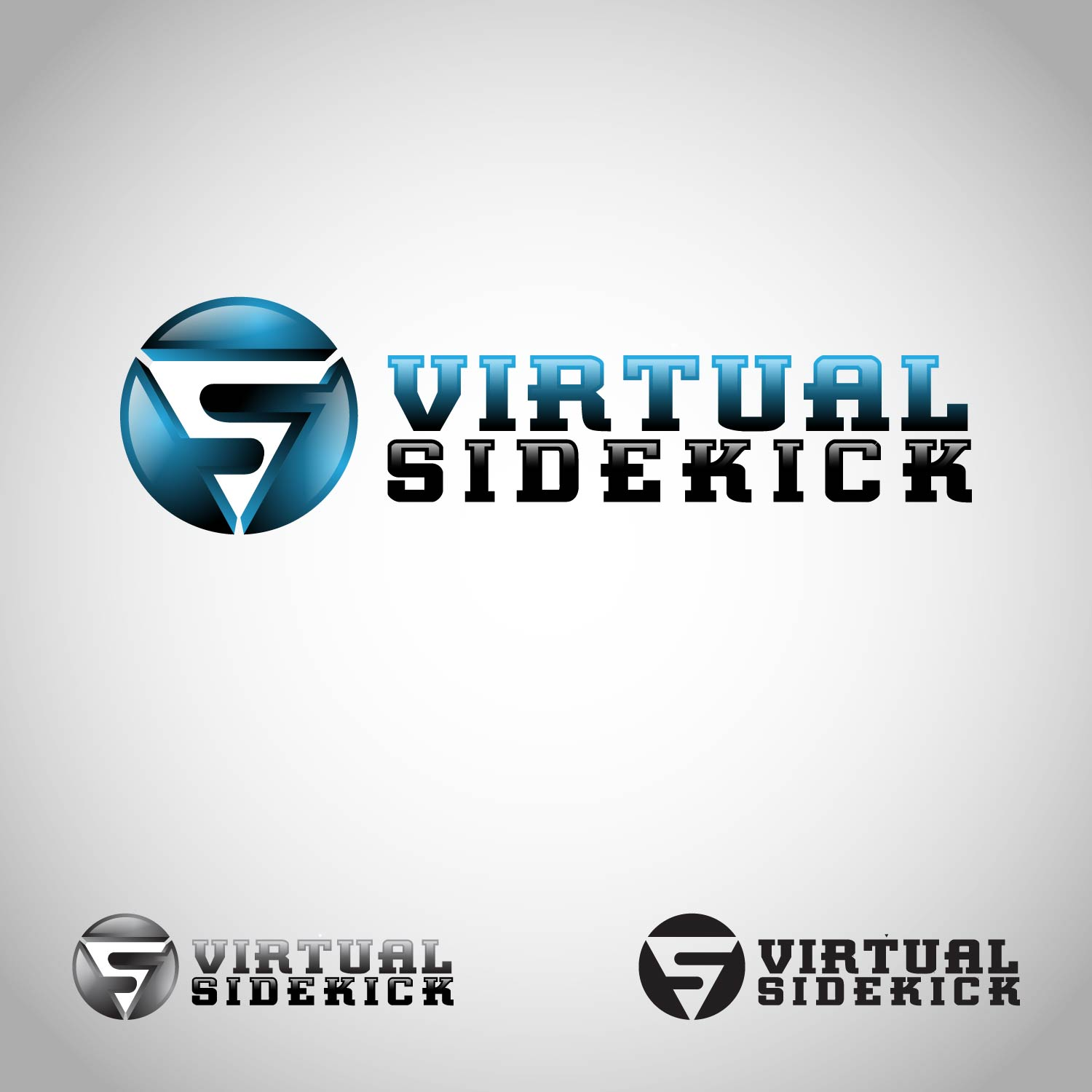 Logo Design by lagalag - Entry No. 63 in the Logo Design Contest Fun Logo Design for Virtual Sidekick.