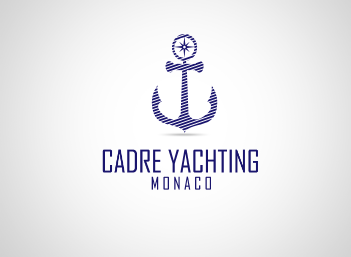 Logo Design by Jan Chua - Entry No. 322 in the Logo Design Contest New Logo Design for Cadre Yachting Monaco.
