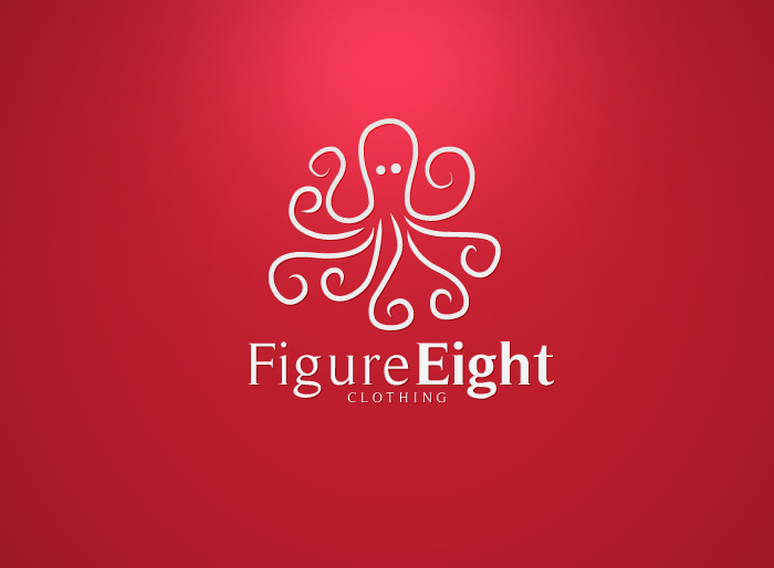 Logo Design by Jan Chua - Entry No. 26 in the Logo Design Contest Artistic Logo Design for Figure Eight Clothing.