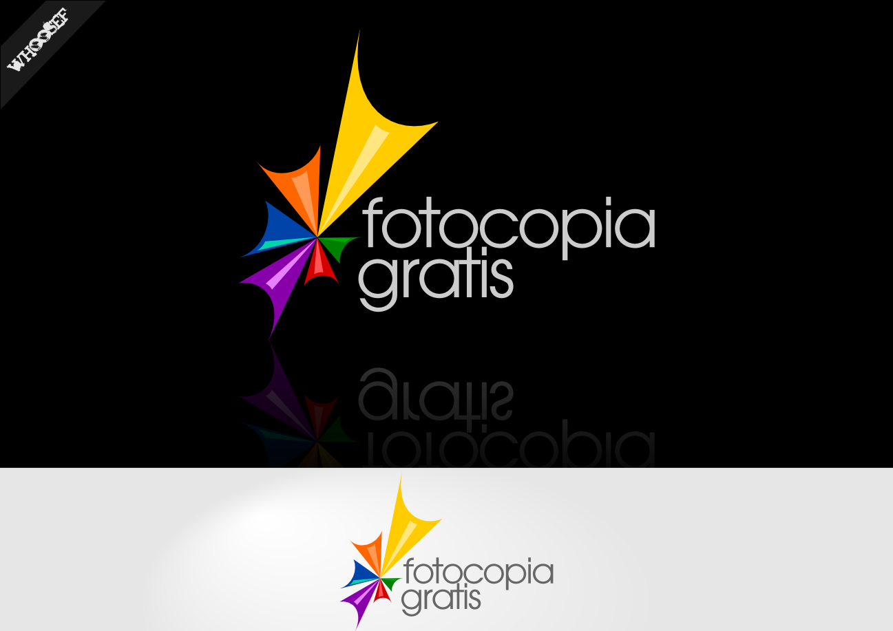 Logo Design by whoosef - Entry No. 202 in the Logo Design Contest Inspiring Logo Design for Fotocopiagratis.