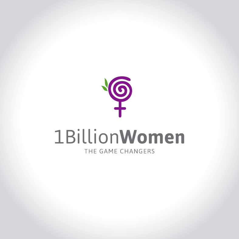 Logo Design by luna - Entry No. 26 in the Logo Design Contest Fun Logo Design for 1BillionWomen.