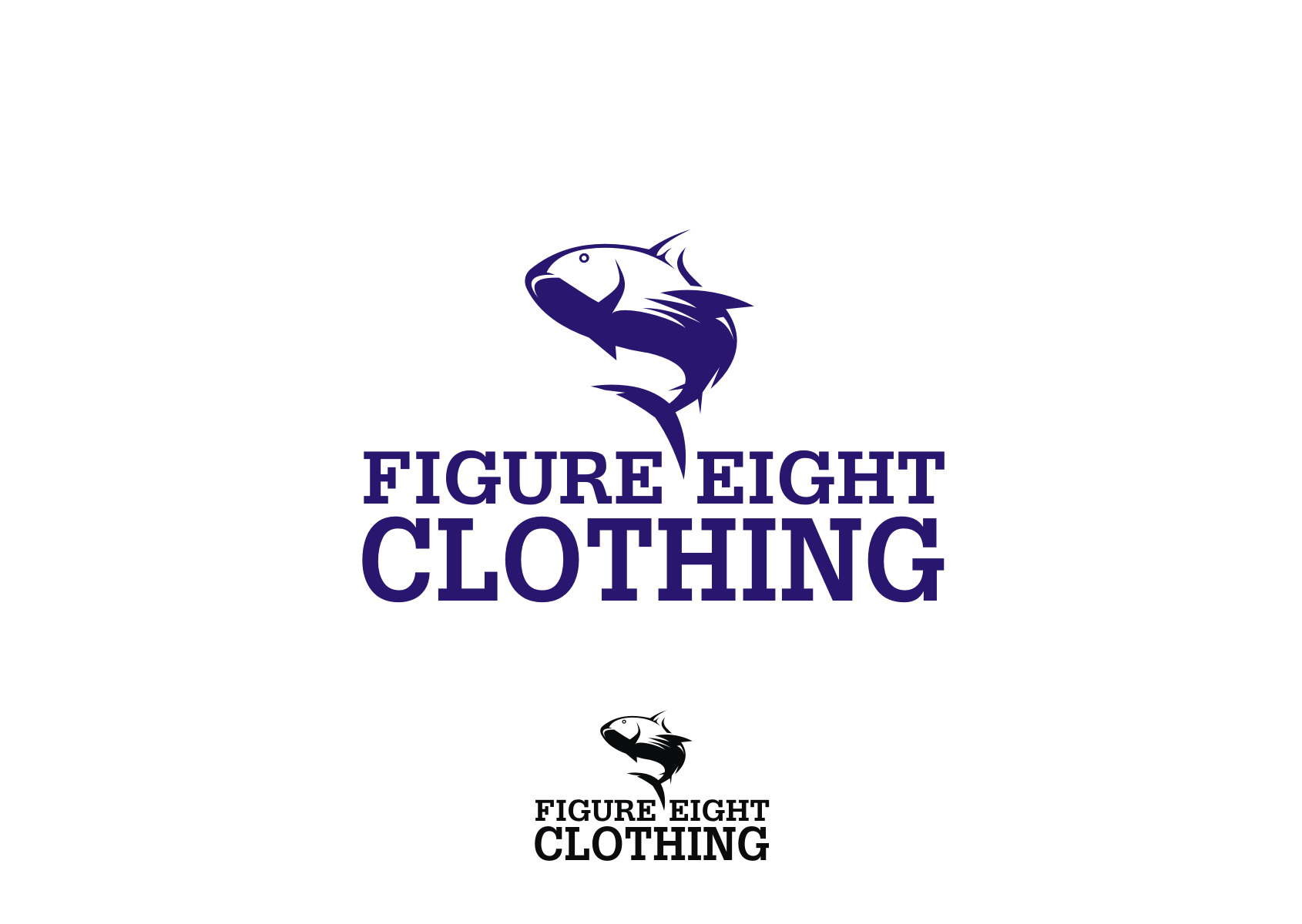 Logo Design by Denny Fayana - Entry No. 33 in the Logo Design Contest Artistic Logo Design for Figure Eight Clothing.