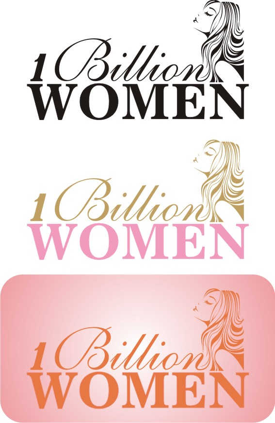 Logo Design by Korsunov Oleg - Entry No. 27 in the Logo Design Contest Fun Logo Design for 1BillionWomen.