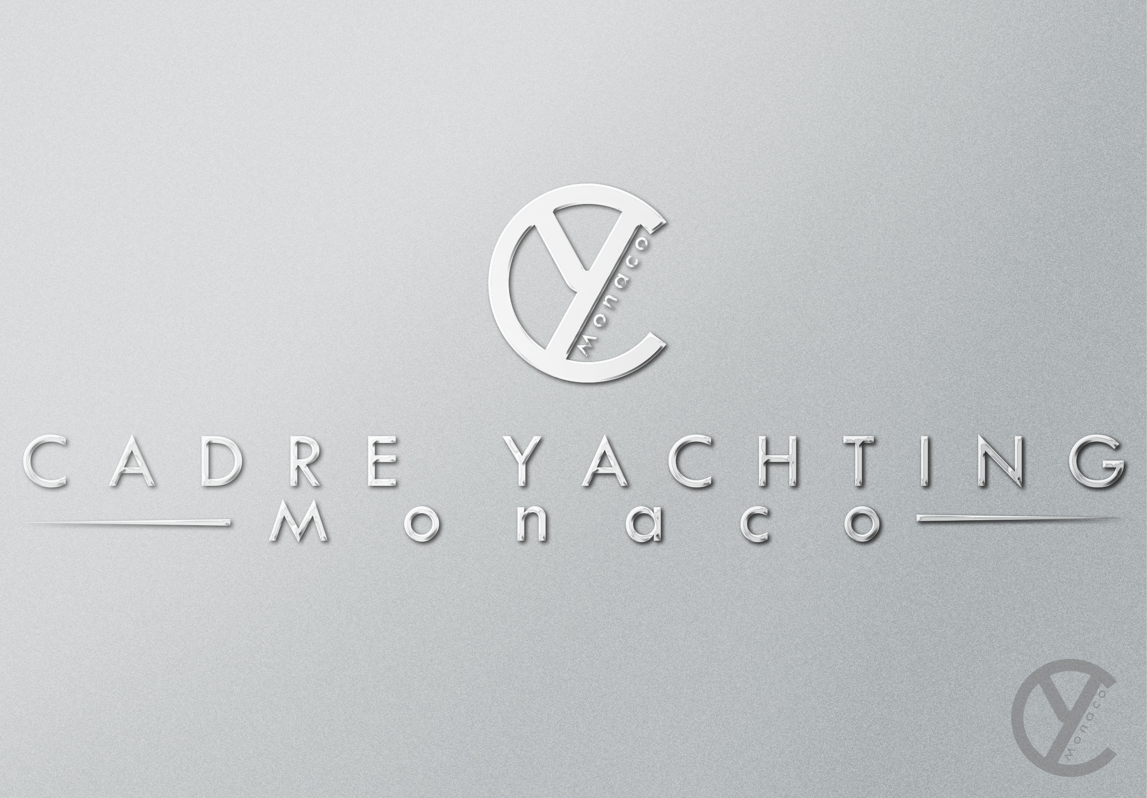 Logo Design by olii - Entry No. 341 in the Logo Design Contest New Logo Design for Cadre Yachting Monaco.