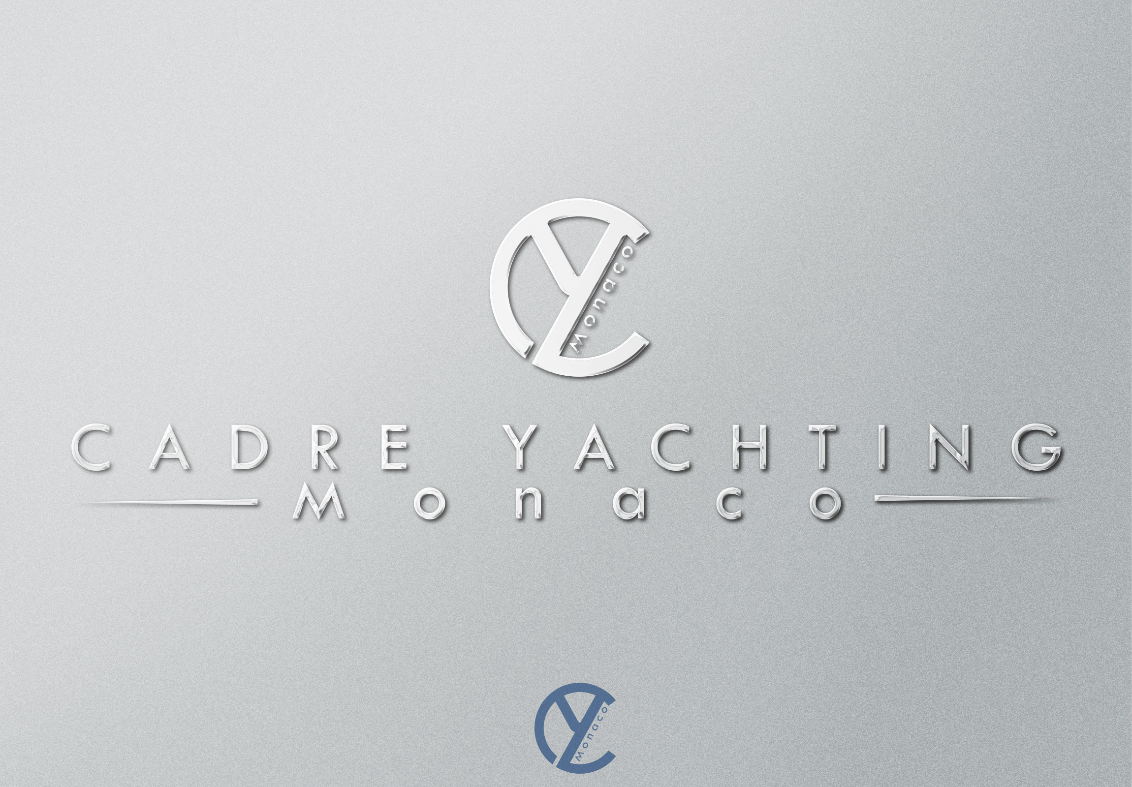 Logo Design by olii - Entry No. 342 in the Logo Design Contest New Logo Design for Cadre Yachting Monaco.