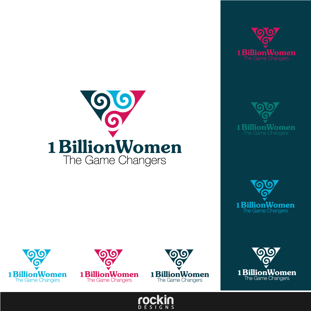 Logo Design by rockin - Entry No. 31 in the Logo Design Contest Fun Logo Design for 1BillionWomen.