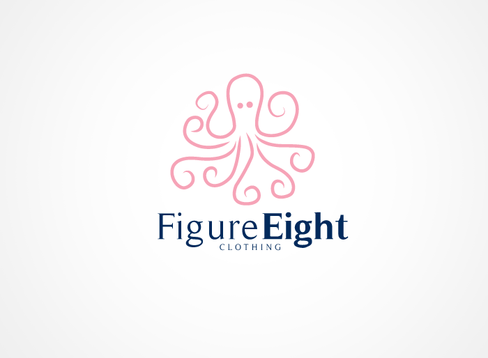 Logo Design by Jan Chua - Entry No. 40 in the Logo Design Contest Artistic Logo Design for Figure Eight Clothing.