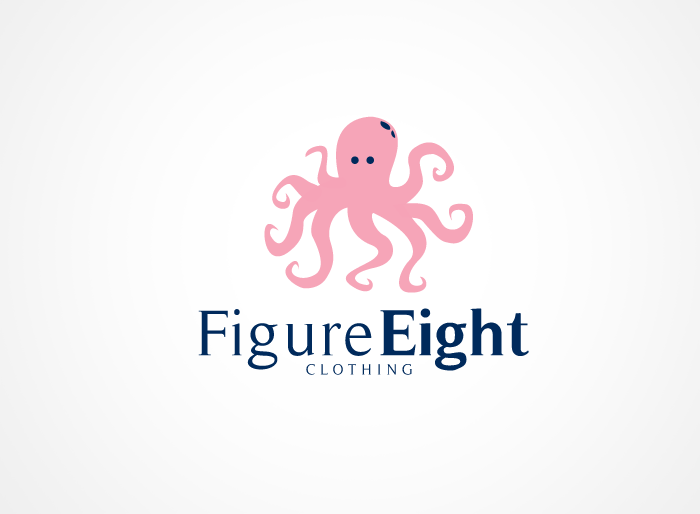 Logo Design by Jan Chua - Entry No. 41 in the Logo Design Contest Artistic Logo Design for Figure Eight Clothing.