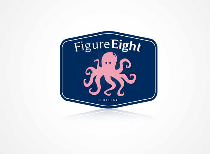 Logo Design by Jan Chua - Entry No. 42 in the Logo Design Contest Artistic Logo Design for Figure Eight Clothing.