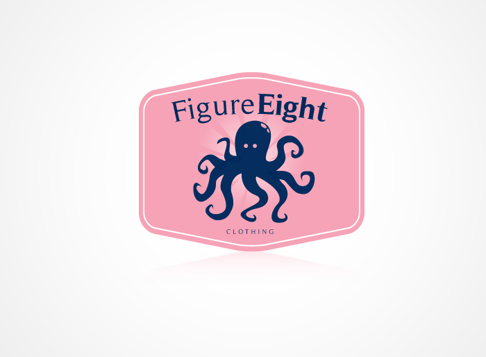 Logo Design by Jan Chua - Entry No. 43 in the Logo Design Contest Artistic Logo Design for Figure Eight Clothing.