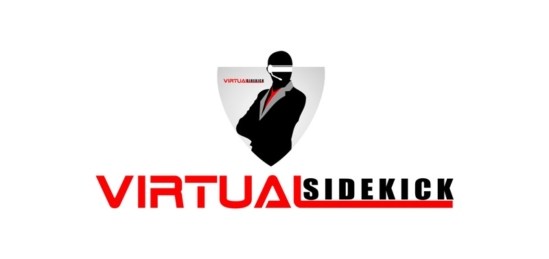 Logo Design by Crispin Jr Vasquez - Entry No. 77 in the Logo Design Contest Fun Logo Design for Virtual Sidekick.