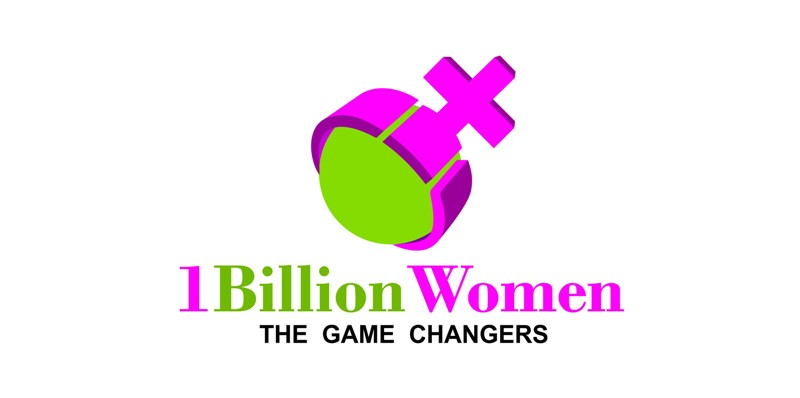 Logo Design by Crispin Jr Vasquez - Entry No. 34 in the Logo Design Contest Fun Logo Design for 1BillionWomen.
