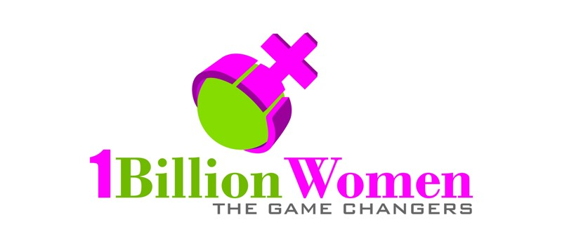 Logo Design by Crispin Jr Vasquez - Entry No. 35 in the Logo Design Contest Fun Logo Design for 1BillionWomen.
