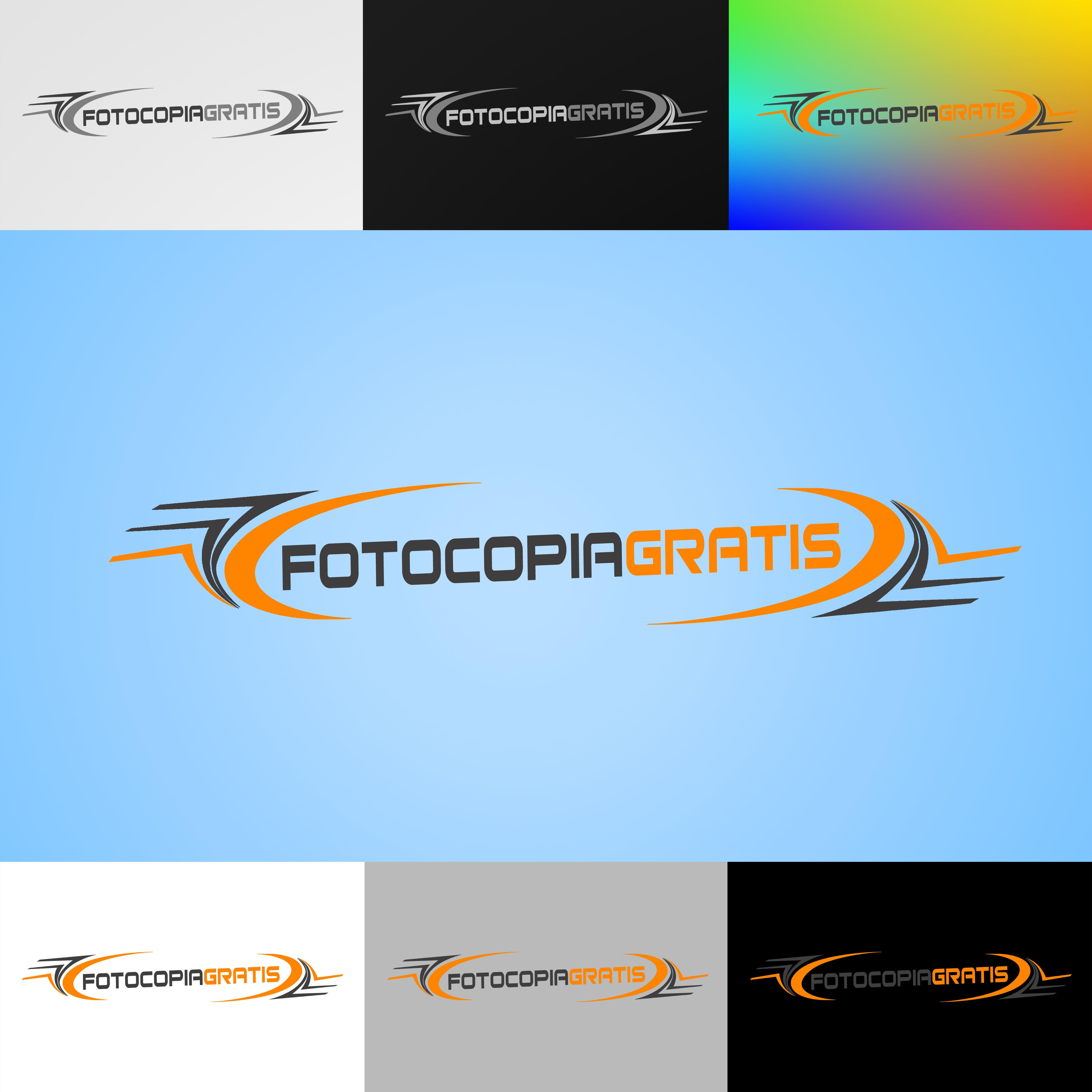 Logo Design by Cesar III Sotto - Entry No. 205 in the Logo Design Contest Inspiring Logo Design for Fotocopiagratis.