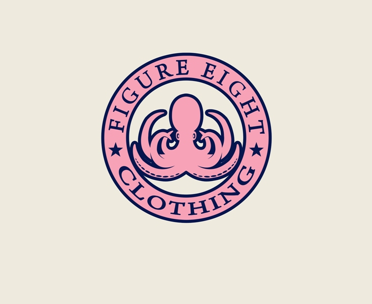 Logo Design by Mhon_Rose - Entry No. 46 in the Logo Design Contest Artistic Logo Design for Figure Eight Clothing.