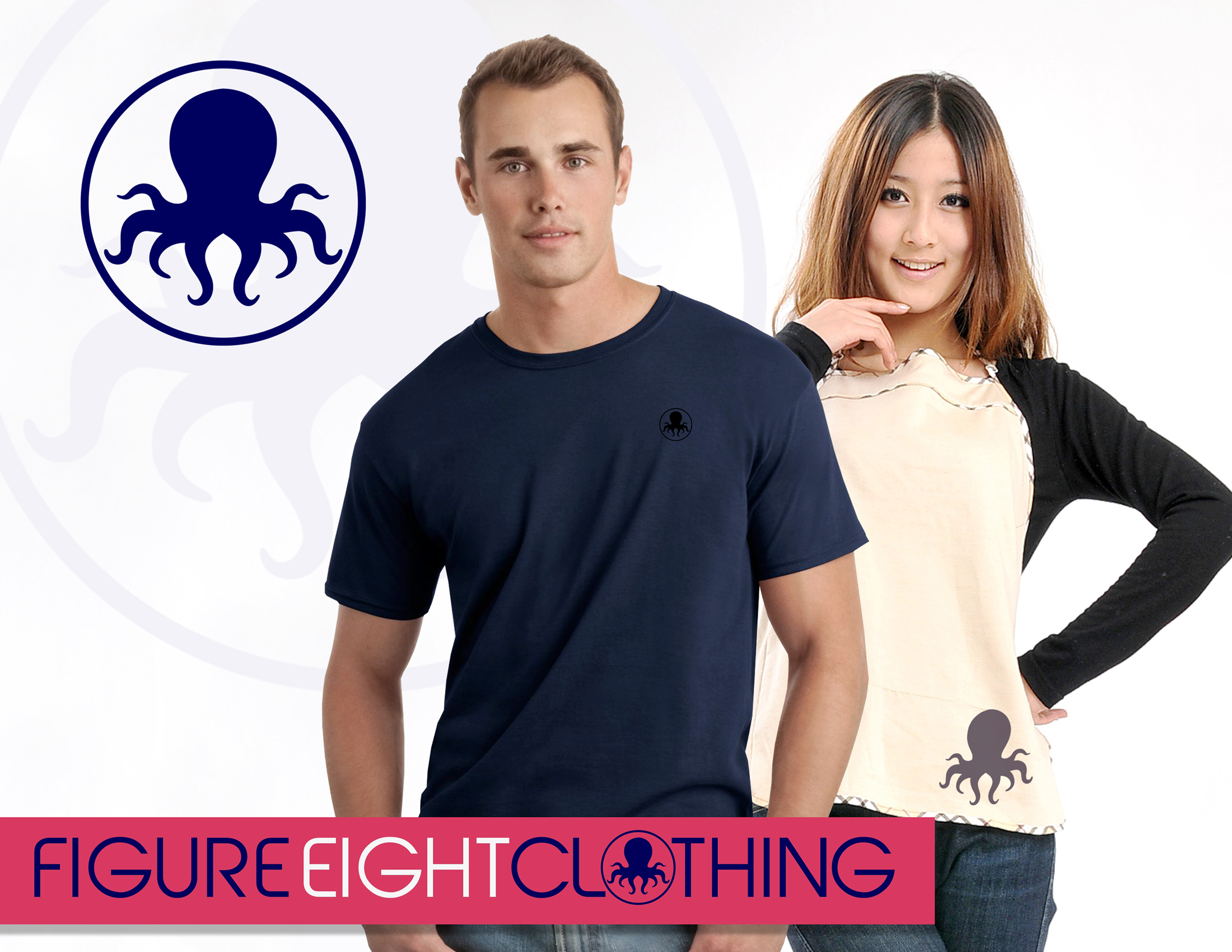 Logo Design by Private User - Entry No. 47 in the Logo Design Contest Artistic Logo Design for Figure Eight Clothing.