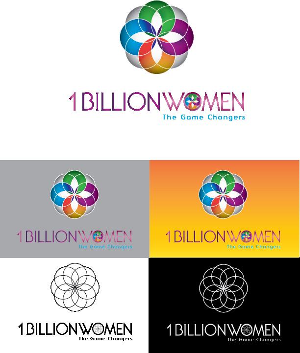 Logo Design by Chris Cowan - Entry No. 36 in the Logo Design Contest Fun Logo Design for 1BillionWomen.