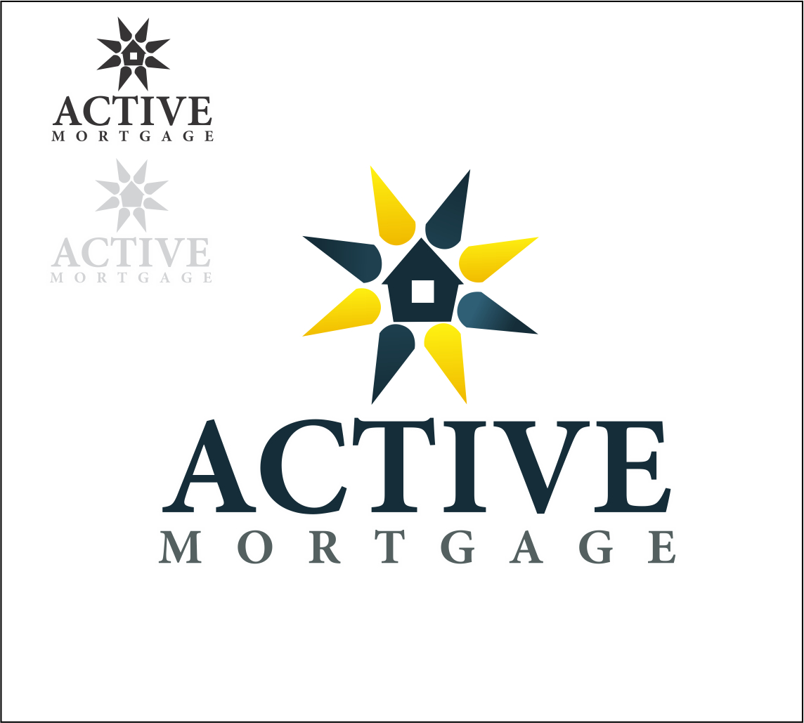 Logo Design by arkvisdesigns - Entry No. 145 in the Logo Design Contest Active Mortgage Corp..