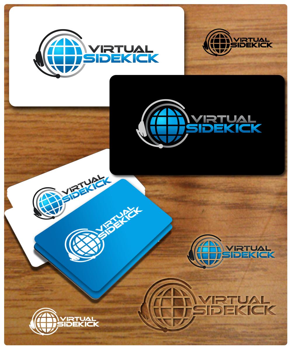 Logo Design by Private User - Entry No. 91 in the Logo Design Contest Fun Logo Design for Virtual Sidekick.