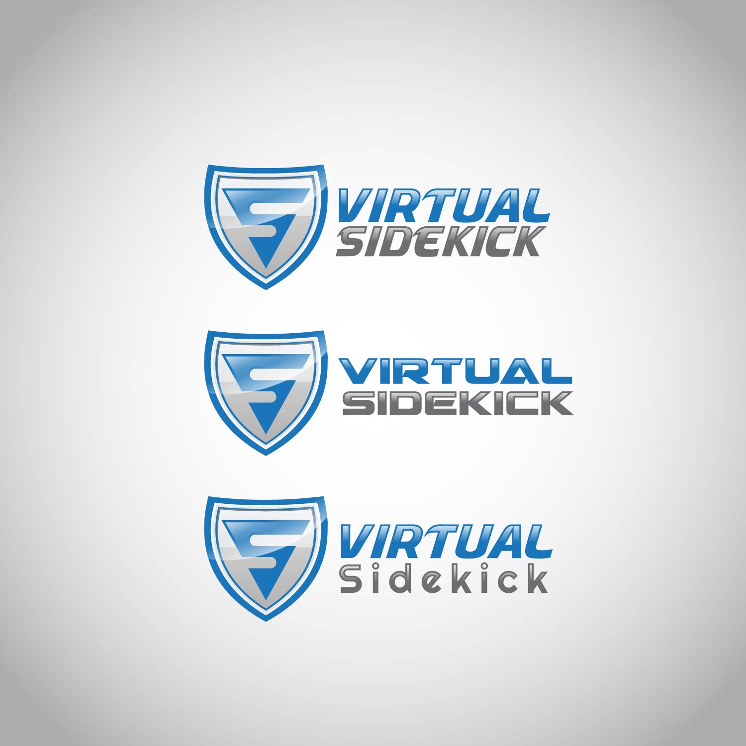 Logo Design by lagalag - Entry No. 92 in the Logo Design Contest Fun Logo Design for Virtual Sidekick.