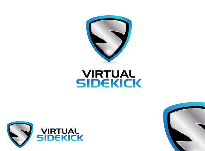 Logo Design by Jan Chua - Entry No. 97 in the Logo Design Contest Fun Logo Design for Virtual Sidekick.