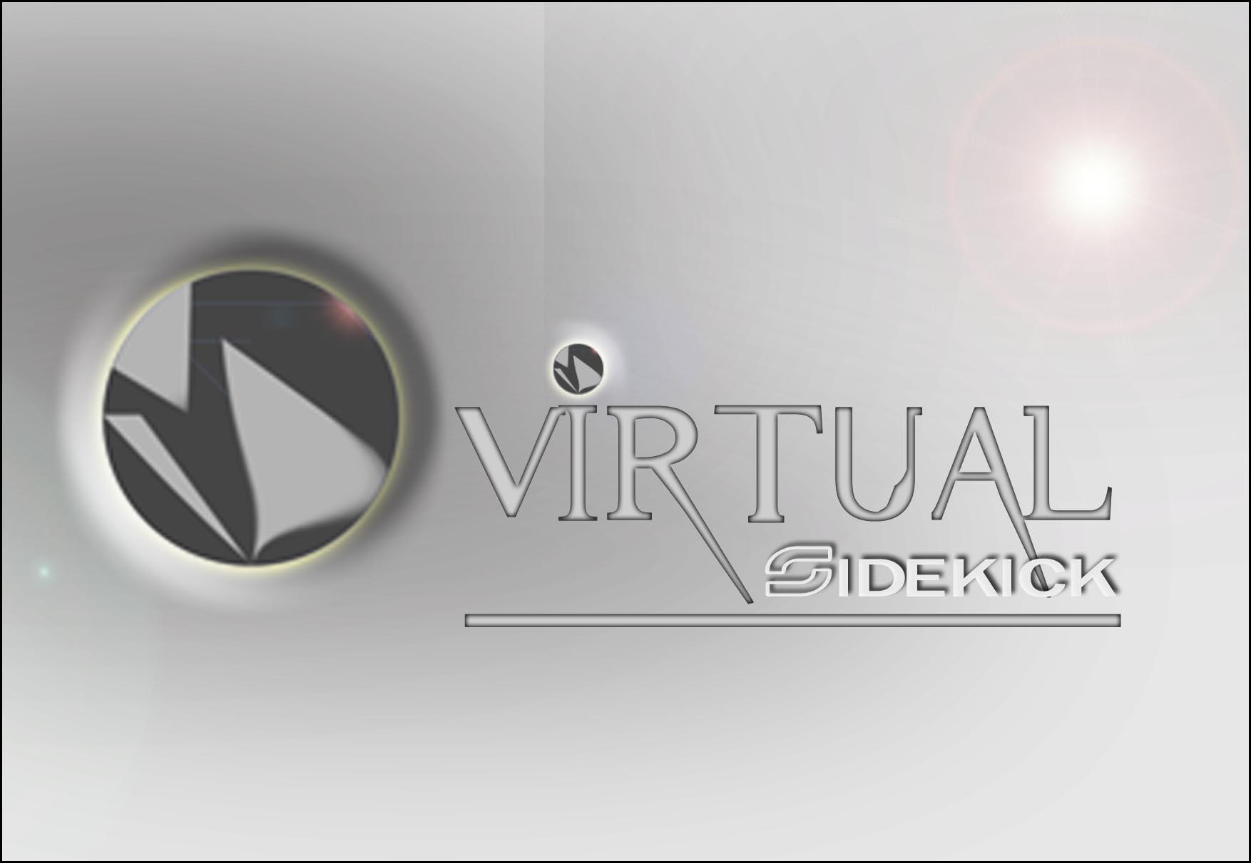Logo Design by faza-bejo - Entry No. 98 in the Logo Design Contest Fun Logo Design for Virtual Sidekick.