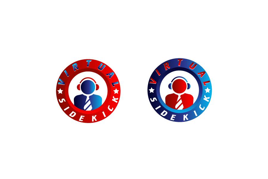 Logo Design by Private User - Entry No. 102 in the Logo Design Contest Fun Logo Design for Virtual Sidekick.