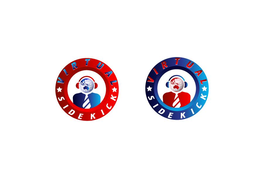 Logo Design by Private User - Entry No. 104 in the Logo Design Contest Fun Logo Design for Virtual Sidekick.