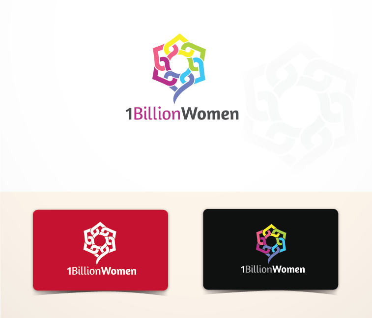 Logo Design by Private User - Entry No. 39 in the Logo Design Contest Fun Logo Design for 1BillionWomen.