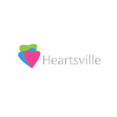 Logo Design by Private User - Entry No. 9 in the Logo Design Contest Unique Logo Design Wanted for Heartsville.