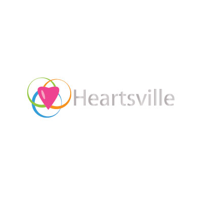 Logo Design by Private User - Entry No. 10 in the Logo Design Contest Unique Logo Design Wanted for Heartsville.