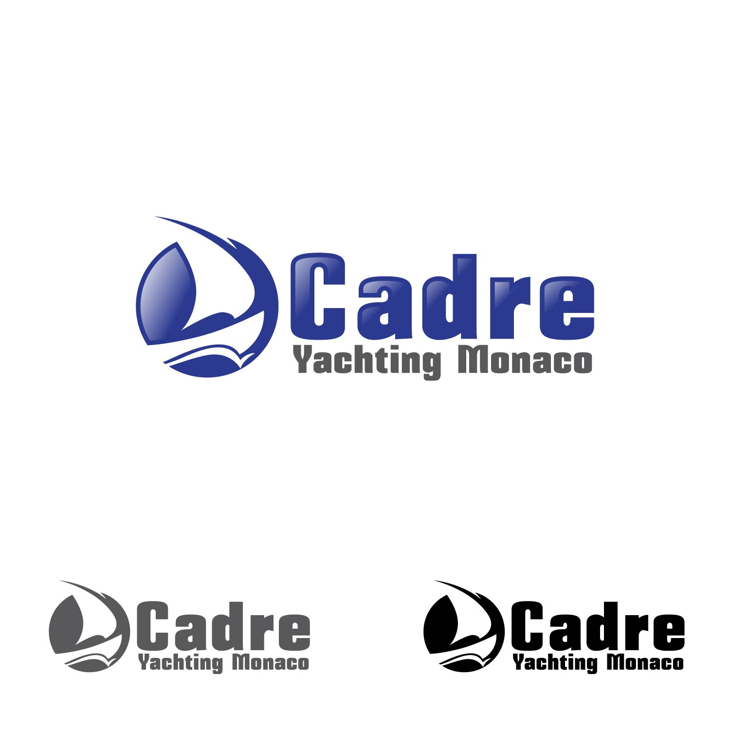Logo Design by lagalag - Entry No. 353 in the Logo Design Contest New Logo Design for Cadre Yachting Monaco.