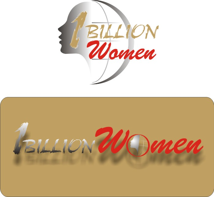 Logo Design by Korsunov Oleg - Entry No. 42 in the Logo Design Contest Fun Logo Design for 1BillionWomen.