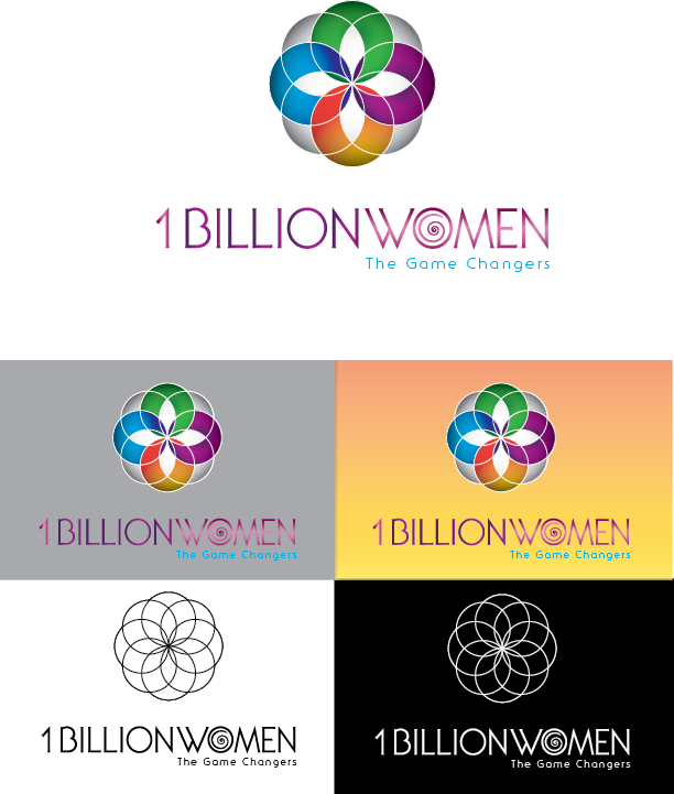 Logo Design by Chris Cowan - Entry No. 44 in the Logo Design Contest Fun Logo Design for 1BillionWomen.