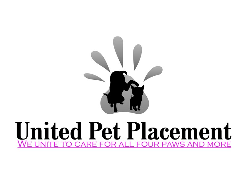 Logo Design by Crispin Jr Vasquez - Entry No. 2 in the Logo Design Contest Artistic Logo Design for united pet placement.