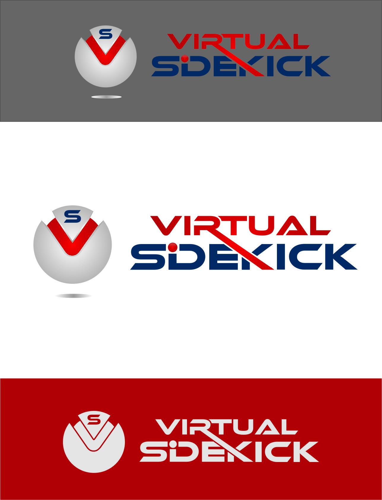 Logo Design by RasYa Muhammad Athaya - Entry No. 120 in the Logo Design Contest Fun Logo Design for Virtual Sidekick.