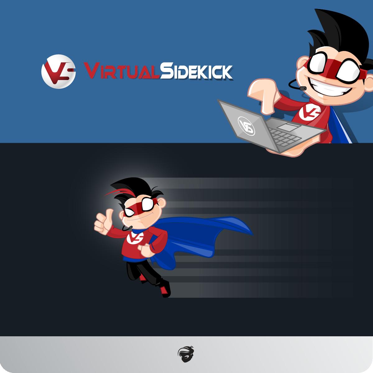 Logo Design by zesthar - Entry No. 127 in the Logo Design Contest Fun Logo Design for Virtual Sidekick.
