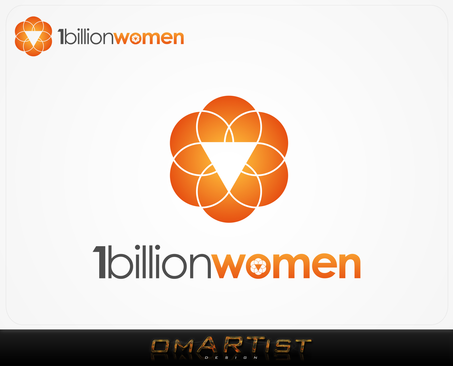 Logo Design by omARTist - Entry No. 50 in the Logo Design Contest Fun Logo Design for 1BillionWomen.