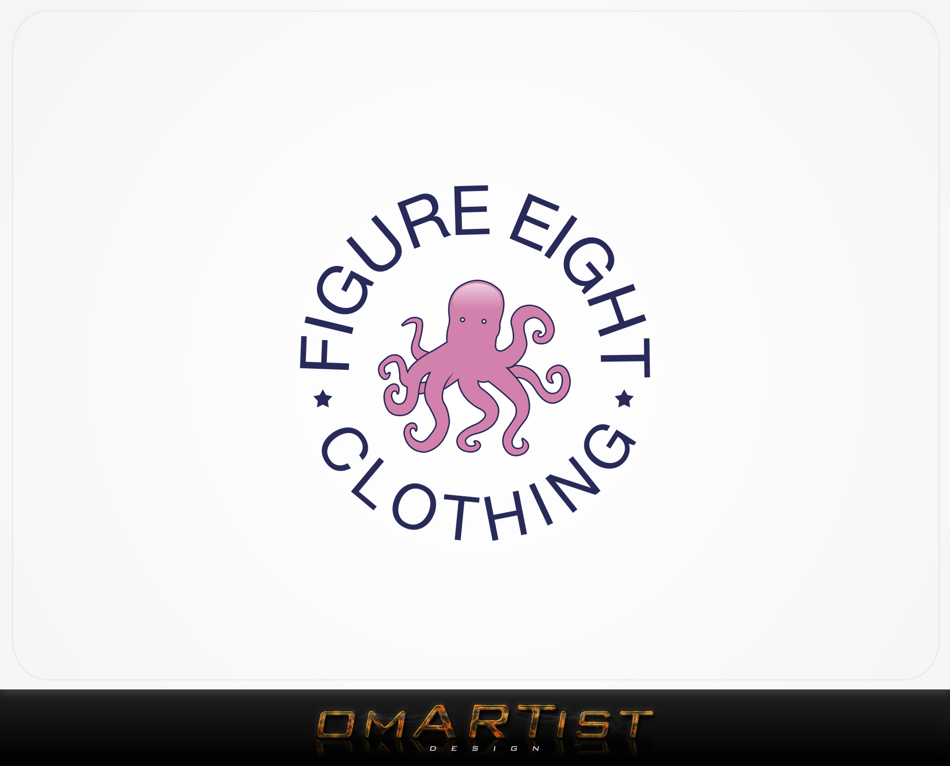 Logo Design by omARTist - Entry No. 74 in the Logo Design Contest Artistic Logo Design for Figure Eight Clothing.