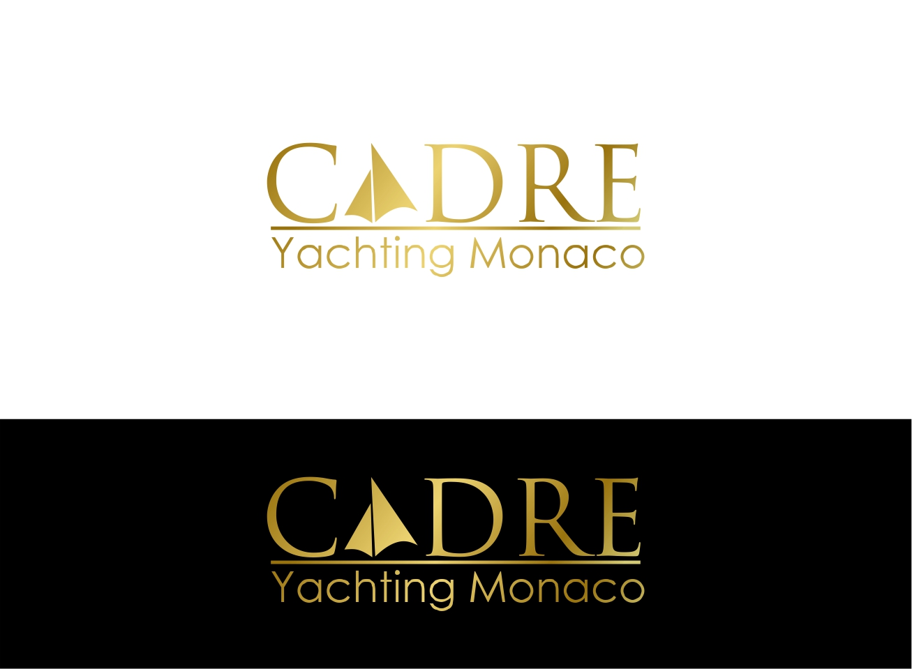 Logo Design by dzoker - Entry No. 362 in the Logo Design Contest New Logo Design for Cadre Yachting Monaco.