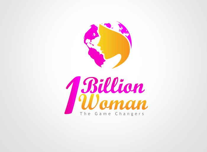 Logo Design by Jan Chua - Entry No. 63 in the Logo Design Contest Fun Logo Design for 1BillionWomen.