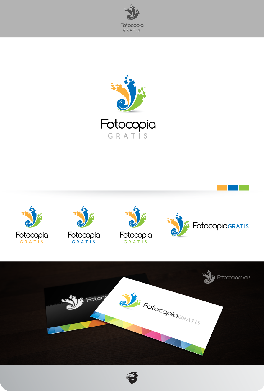 Logo Design by zesthar - Entry No. 218 in the Logo Design Contest Inspiring Logo Design for Fotocopiagratis.