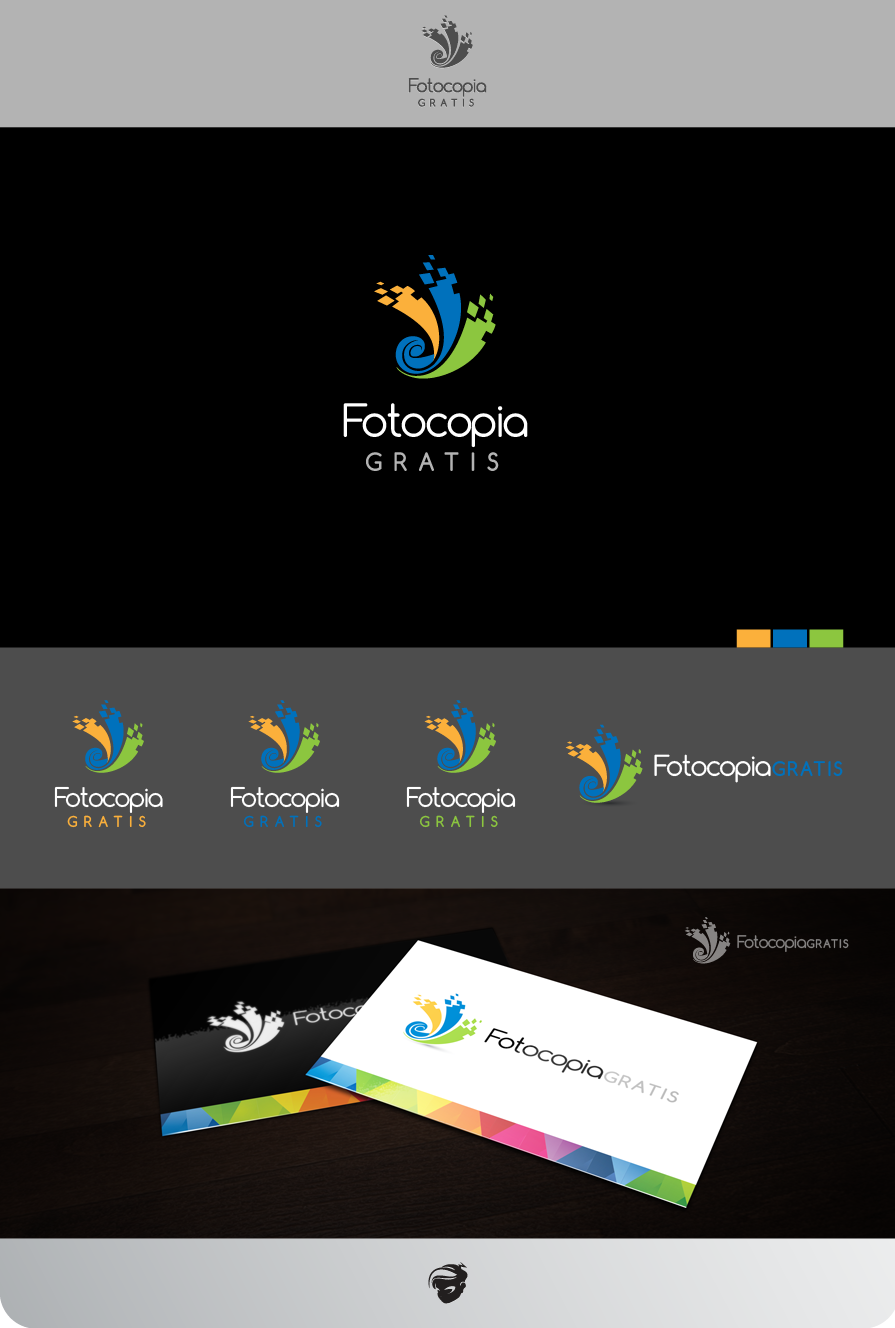 Logo Design by zesthar - Entry No. 219 in the Logo Design Contest Inspiring Logo Design for Fotocopiagratis.