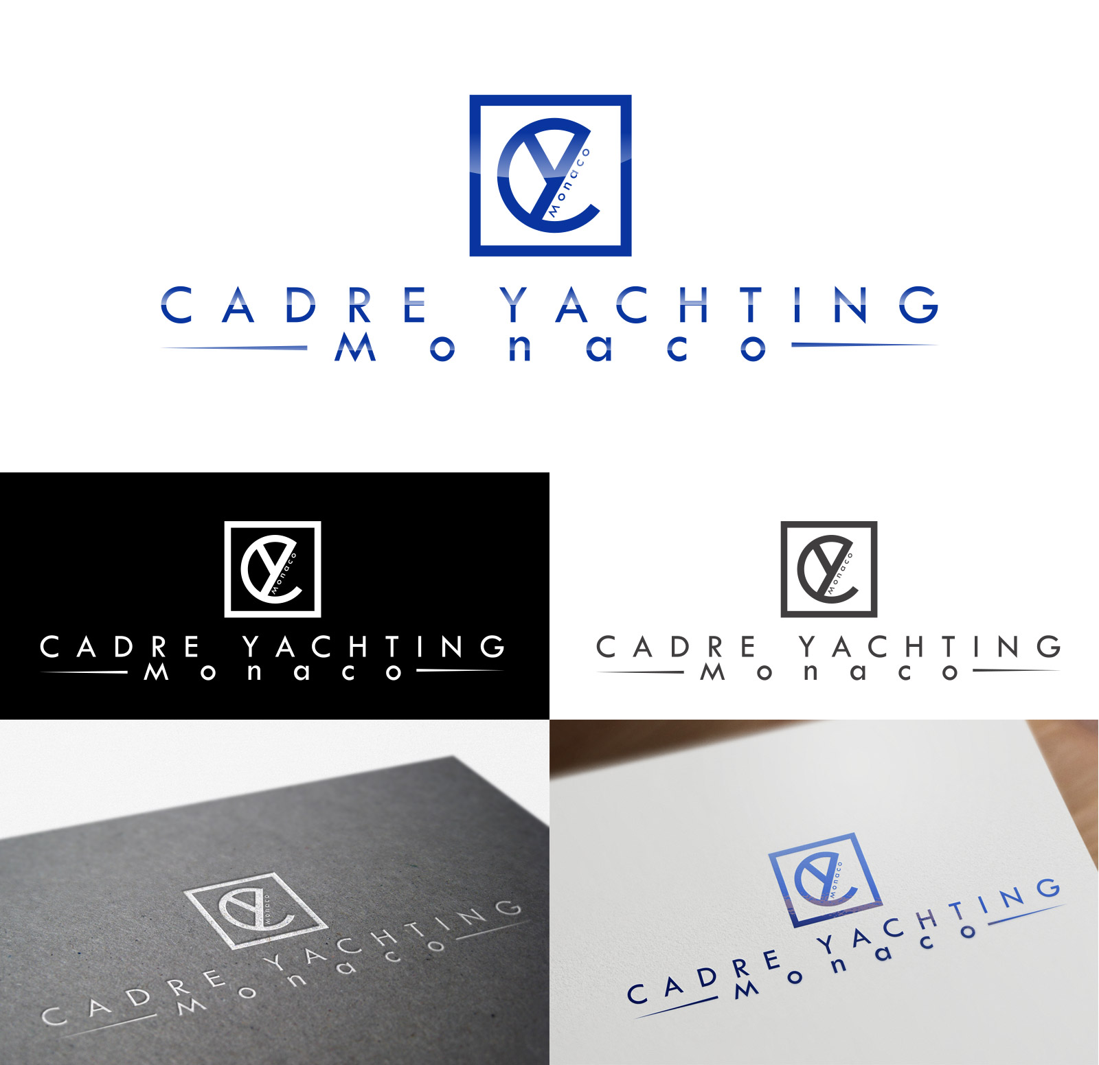 Logo Design by olii - Entry No. 367 in the Logo Design Contest New Logo Design for Cadre Yachting Monaco.