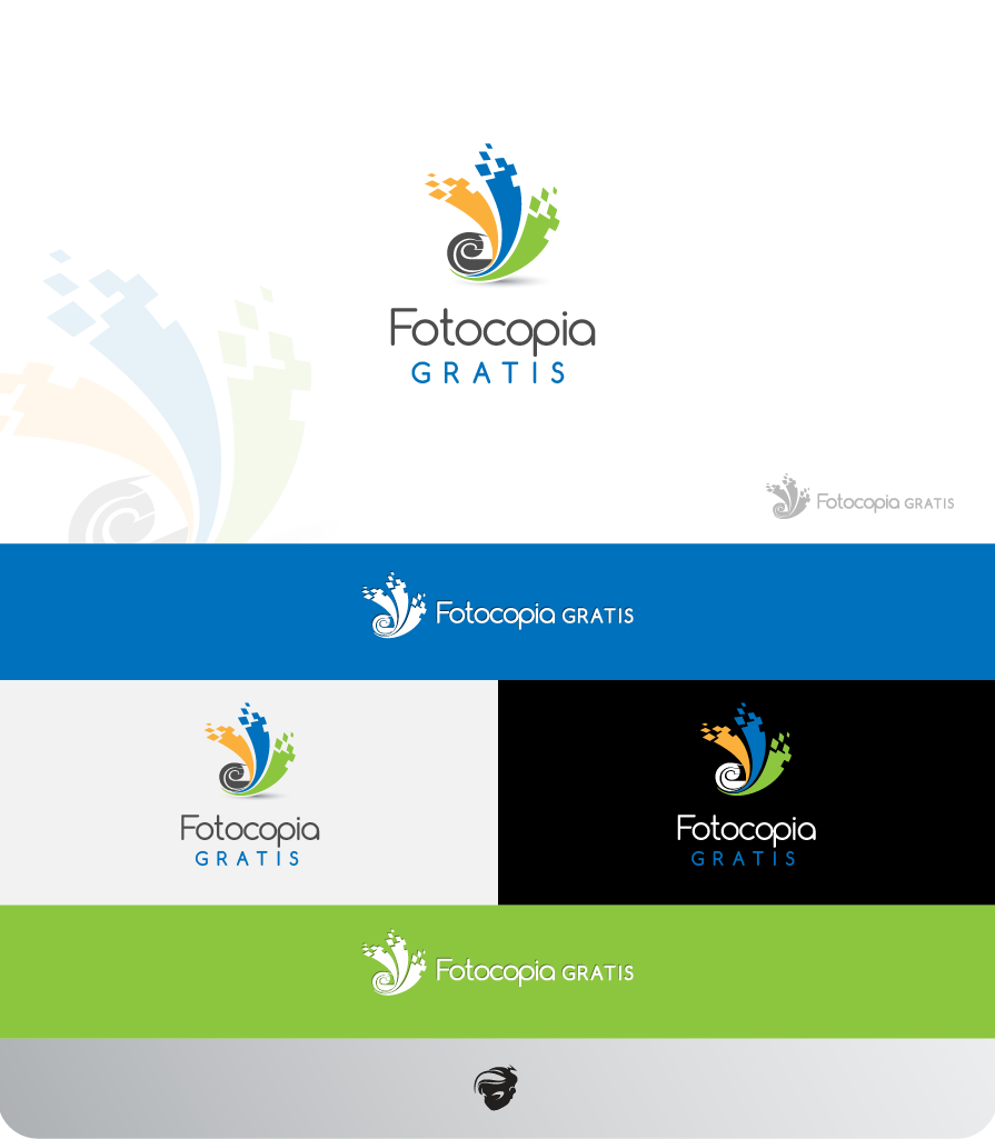 Logo Design by zesthar - Entry No. 220 in the Logo Design Contest Inspiring Logo Design for Fotocopiagratis.