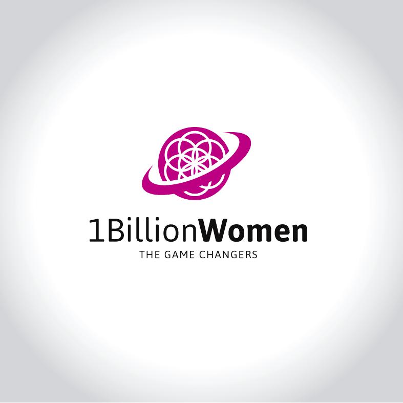 Logo Design by luna - Entry No. 65 in the Logo Design Contest Fun Logo Design for 1BillionWomen.