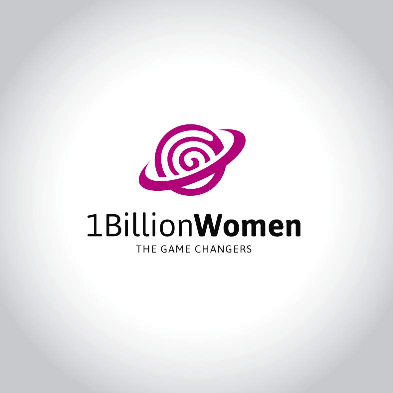 Logo Design by luna - Entry No. 66 in the Logo Design Contest Fun Logo Design for 1BillionWomen.